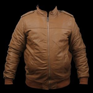 Real Leather Jacket For Boys